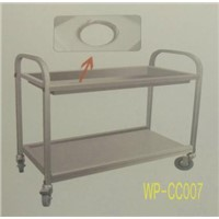 Stainless Steel Food Cleaning Cart for Commerical Kithen, Dining Room, Restaurant