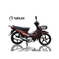 100/110cc Alloy Wheel Basket One or Double Clutches Motorcycle (SL110-A)