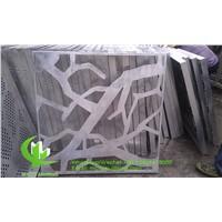 Aluminum Engraving Panel for Facade Curtain Wall