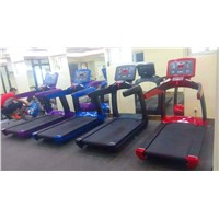 Factory Direct Gym Equipment / Commercial Treadmill with Keyboard