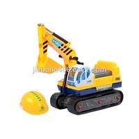 NO. 118 Excavator Children on Car