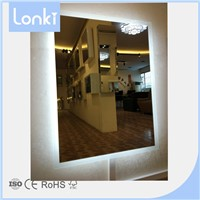 CE UL Approval Backlit Bathroom LED Mirror Lighted Wall Mirror