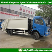 China 6-7cubic Garbage Compactor Truck Supplier