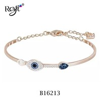 High Quality Low Prices 925 Serling Silver Evil Eye Bracelet Jewelry