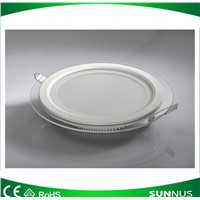 Round Glass Ceiling Light 18W Recessed Down Lighting