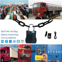 Remote Control GPS Tracking Padlock for Container/Vehicle Use