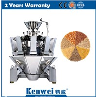 CE High Speed Combined Multihead Weigher for Grain Seed Peanuts