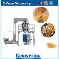 Grain Rice Wheet Packaging Machine with High Speed Multihead Weigher
