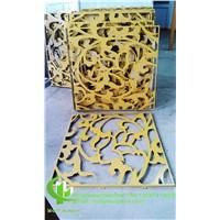 CNC Aluminium Decorative Wall Panels for Building Or Garden