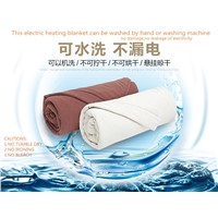 Smart & Safe Electric Heating Blanket with Remote Control. Polar Fleece.