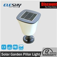 CE Approved Replaceable Battery Solar LED Garden Lamp with Great Price