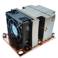 Selling Intel LGA3647 CPU Socket Bond Fin/Skive Fin/Stack Fin Aluminum Heat Sink with Fan