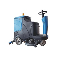Ride-on Automatic Floor Scrubber