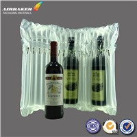 Red Wine Bottle Inflatable Packaging Bag Style Newest Design Air Bubble Bags