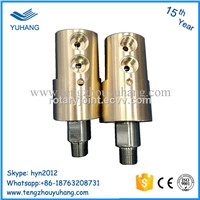 Copper Shell High Speed Hydraulic Water Rotary Joint BSP Thread