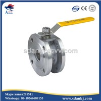 Stainless Steel Clamp Type Ball Valve with ISO5211 Mounting Pad