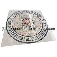 Marble Waterjet Medallion Floor Tile