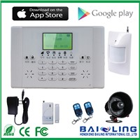 2016 Hot Sale Wireless GSM Alarm System for Home Security with Multi-Langage