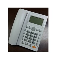 Stock Inventory Caller ID Corded Telephone, Wall /Desk Mountable Phone.