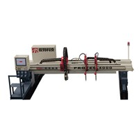 TopTech Gantry CNC High Definition Flame or Plasma Cutting Machine