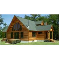 Modern Wooden Log Houses