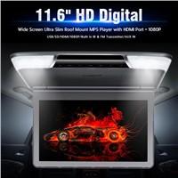 11.6 Inch Digital Screen Ultra-Thin Design In-Car Flip Down Monitor Support 1080P