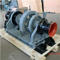 Electric Hydraulic Diesel Engine Operated Anchor Windlass with Single / Double Gypsies for Ship Boat