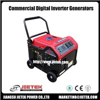 Air Cooled Digital Magnet Motor Generator Set 3500 Watt