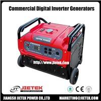 Air Cooled 5500 Watt Single Phase Inverter Gasoline Generator Set