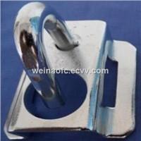 FTTH Fittings Fiber Optic Hook Metal Fixer