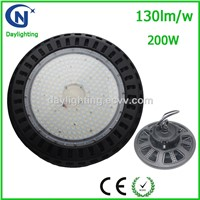 200W K Type UFO LED High Bay Light for Warehouse, Supermarket