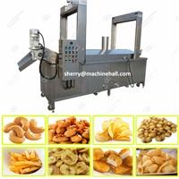 Continuous Potato Chips Frying Machine|Automatic Potato Chips Fryer Equipment
