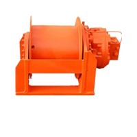 Custom Built Hydraulic Winch with High Speed