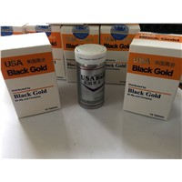 USA Black Gold 10 Tablets Strong Male Sex Enhancement Pills
