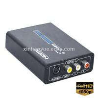 HDMI to AV/S-Video Converter