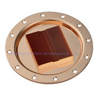 2017 High Performance 0.5mm CNC Aluminium/Copper Water Cooling Heatsink Waterblock Liquid Cooler For GPU CPU