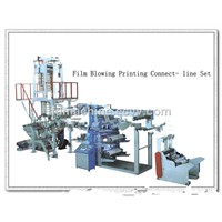 Blown Film Machine Toppan Printing Connection Line
