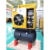 China First-Class Screw Air Compressor with Tank(4-11kw)