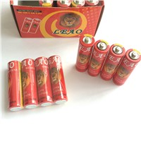 Super Heavy Duty with PVC Shrink & Card Packing R6 Battery