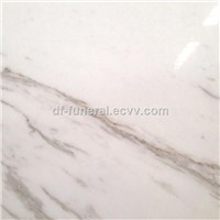 Good Quality Polished White Marble Salb with Cheap Peice