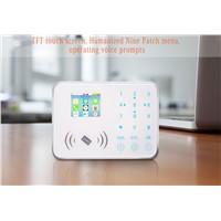 GSM Wireless GSM Home Alarm System Kit RFID Card 433/315mhz Frequency GSM Security Alarm System BL-CG08