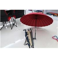 Straigt Umbrella Auto with Walking Stick