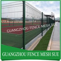 Green Fence Panel Steel Wire Mesh Fence for Hawaii
