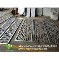 Laser Cut Screen Metal Aluminum Screen Panel