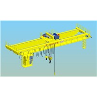 Electric Hoist Bridge Crane Two Beam