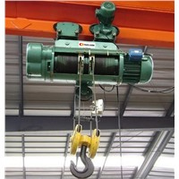 CD/MD Model Monorail Wire Rope Electric Hoist