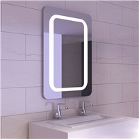 Hotel Decorative LED Bathroom Mirror with Touch Sensor Switch