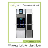 ZD F1 Fingerprint & Password Wireless Electric Door Lock for Glass Door, Wood Door & Metal Door