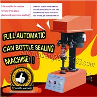 Automatic PET Can Tin, Jar Capper Can Capping Machine for Various Circular Iron, Glass, Plasticand Paper Cans Sealing