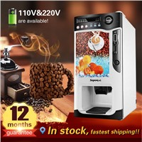 with Cooling & Heating Function Automatic Instant Coffee Tea Vending Machine